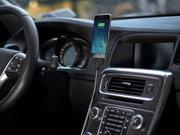 Bobine Auto flexible iPhone Dock $29.99 - 25% off.