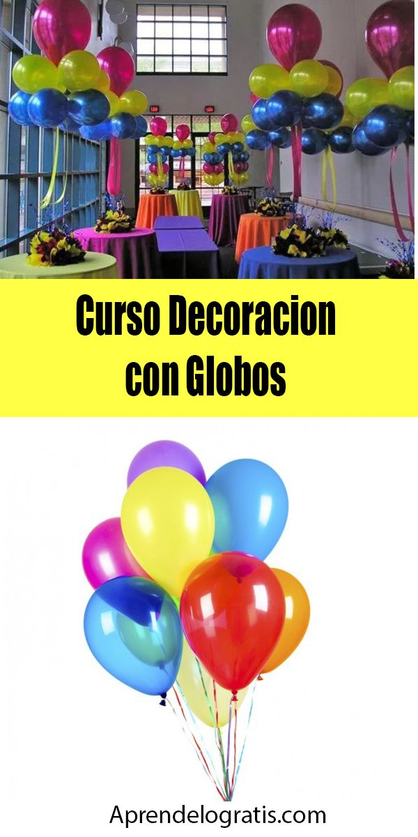 Curso Online De Decoracion De Globos Gratis Decoracion De