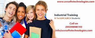 UVSofts Technologies: 2/4 weeks & months Industrial Training