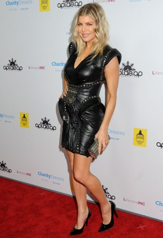 Fergie in J'Aton Couture 2010