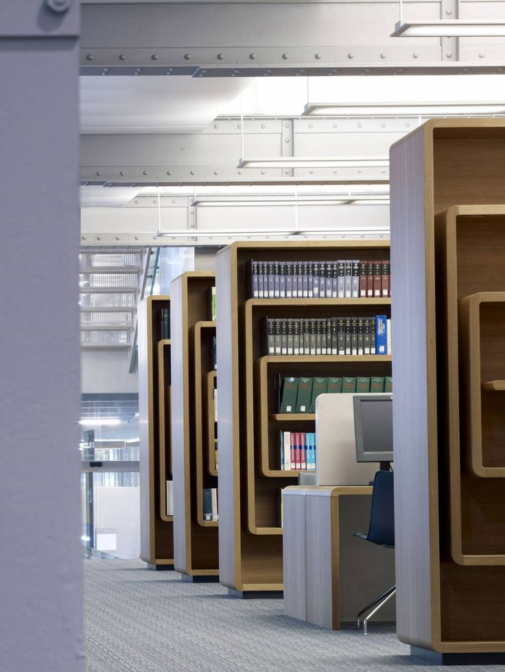 Mackay + Partners  Merck Serono Interiors - Library.  Geneva, Switzerland