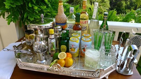 classic bar set up