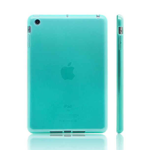 iPad Mini Cover Gel Cyan