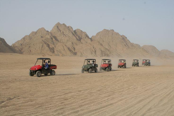 Buggy safari in Sharm El-Sheikh : Trip by Buggy in Sharm desert. http://www.aquabluesharm.com/safari-trips/dune-buggy-sand-buggy-in-sharm-el-sheikh