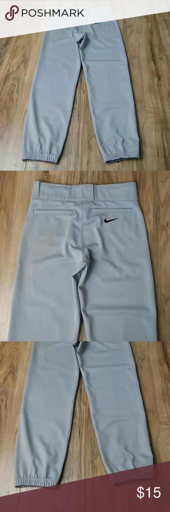 Nike Baseball pants youth Large Does have some stains and have been played in but lots of bases left to slide in to with them. They are a size large Nike Bottoms Sweatpants & Joggers