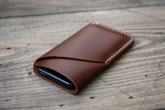 grams28 iPhone 5 Handmade Leather Case iPhone sleeve by grams28, $42.00