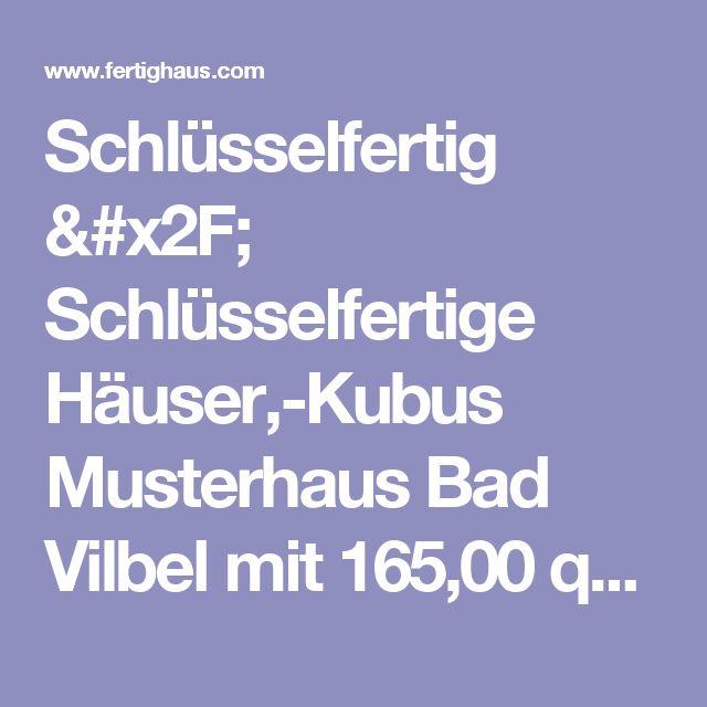 Schlüsselfertig / Schlüsselfertige Häuser,-Kubus Musterhaus Bad Vilbel mit 165,00 qm  und Satteldach als Holztafelbau von Meisterstück-HAUS ab 254.887 Euro