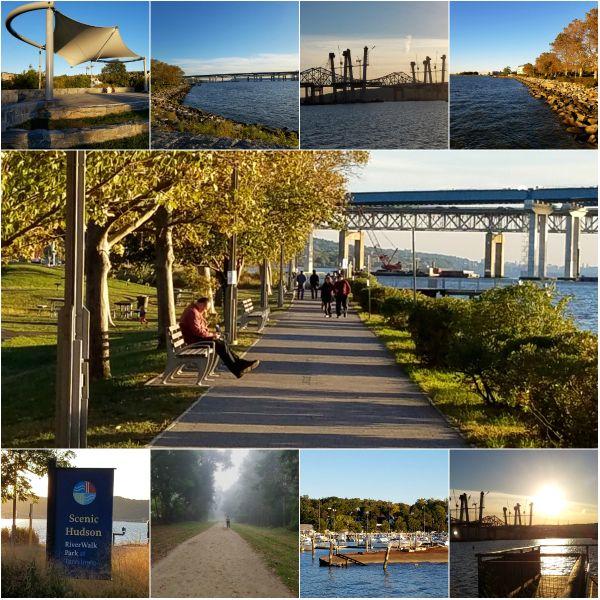 Weekly Photo Challenge: LOCAL - Hudson River & Tappan Zee Bridge from RiverWalk Park #photography #hudsonriver #inspiration