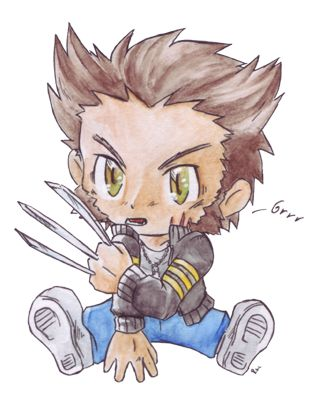 Cutest baby of all- Wolverine (Logan) <3