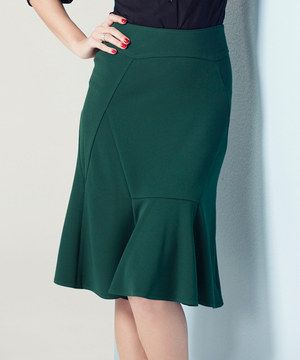 Look what I found on #zulily! Green Trumpet Skirt by VIPART #zulilyfinds