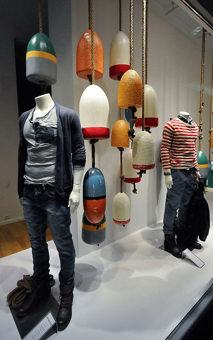 nautical buoys | #visual #merchandising
