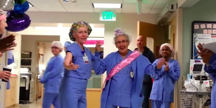 """Happy 90th birthday to Florence """"Seesee"""" Rigney who is the oldest practicing nurse in the United States and has been practicing for almost 70 years!"""