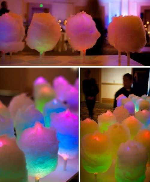 Learn How To Make Glow In The Dark Cotton Candy...