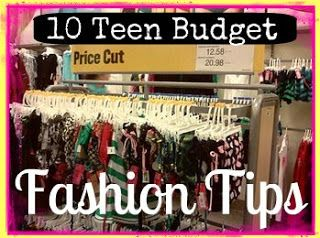 10 Teen Budget Fashion Tips especially for #backtoschool