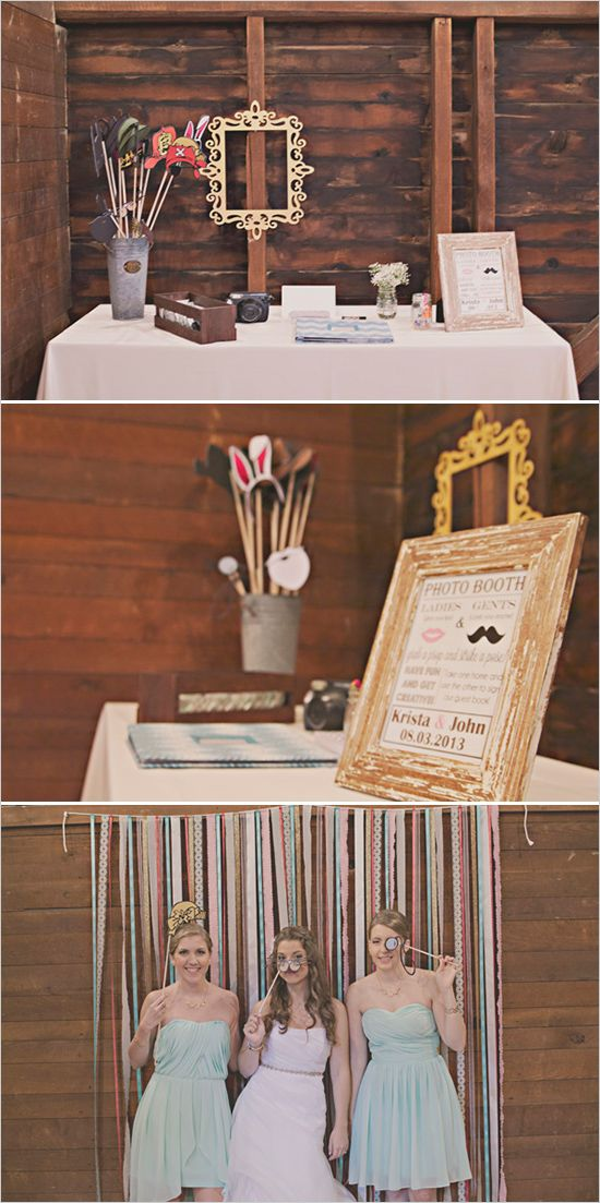 diy wedding photobooth ideas