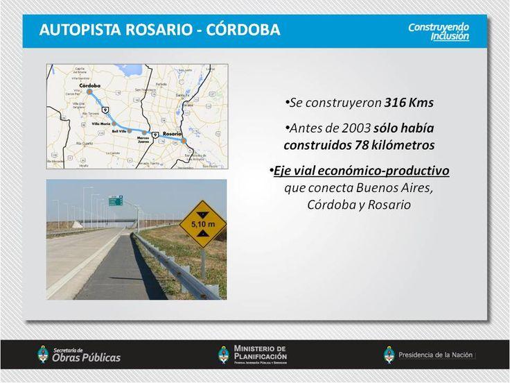 Autopista Rosario - Córdoba.