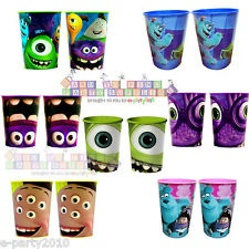 MONSTERS INC UNIVERSITY ~ 16oz Reusable KEEPSAKE CUPS Birthday Party Supplies