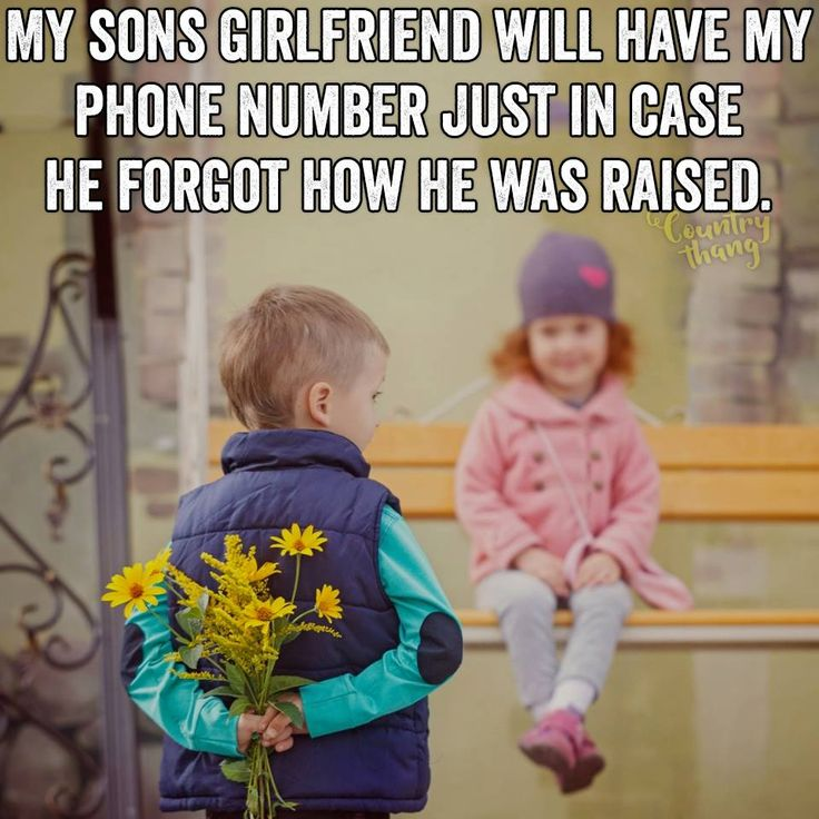 My son is dating a girl with a kid