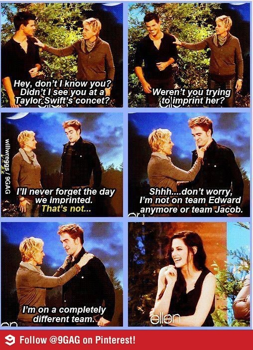 This is why i love Ellen! She's so funny!!!! OMG kristen stewart