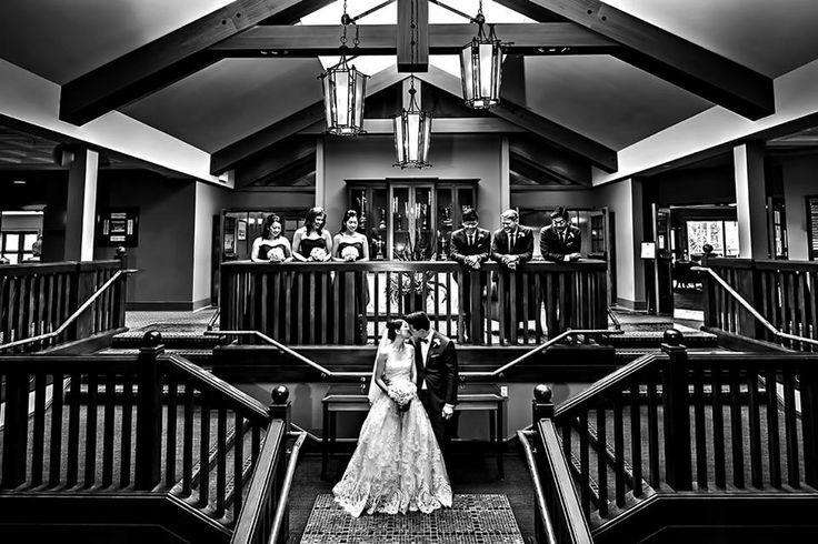 Wedding at Marine Drive Golf Club.