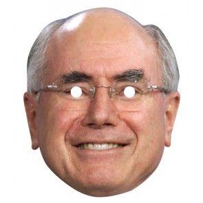 John Howard Celebrity Mask