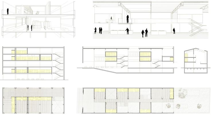 Carles Enrich | Arquitectura + Urbanisme. Drawings. Inserciones urbanas. First Prize winner Europan 2013 competition.