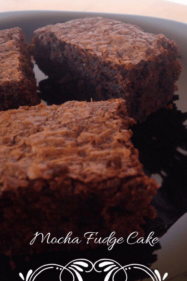 Mocha Fudge Cake (aka Mocha Brownies ! ) – Ms. Di and her Oven