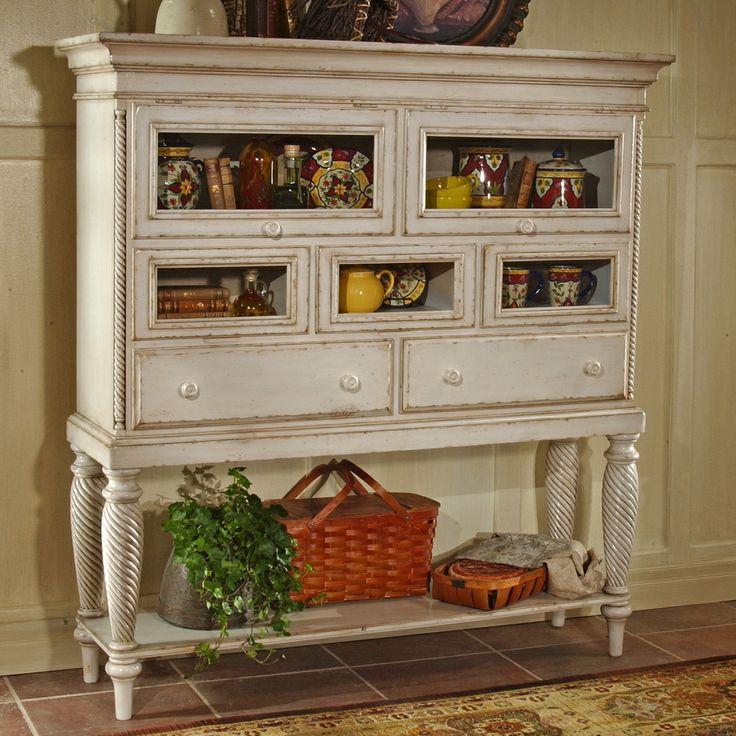 129 best Cabinet / Hutch images on Pinterest   Antique furniture ...