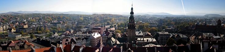 Kłodzko/Glatz Panorama, Glatz Valley, Lower Silesia, Poland