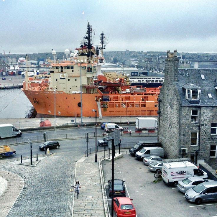 Harbor in Aberdeen, Scotland, Week 2