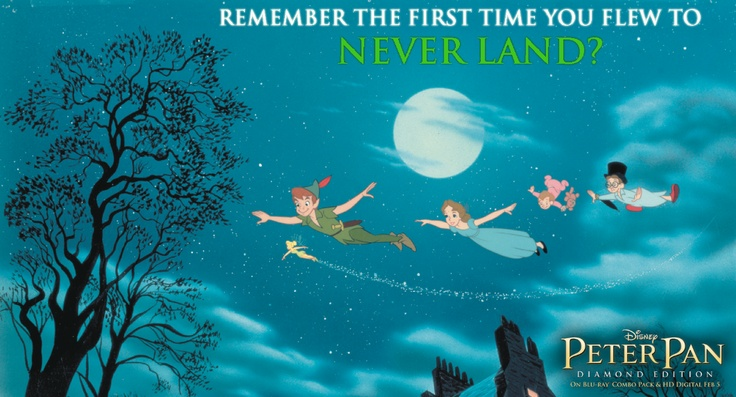 Remember... PeterPan Awwww