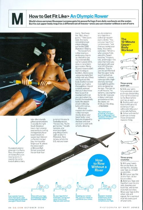 How to get fit like an olympic rower
