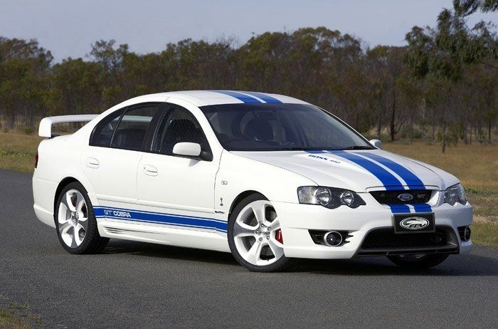 2007 Ford Falcon GT made only in Australia and New Zealand