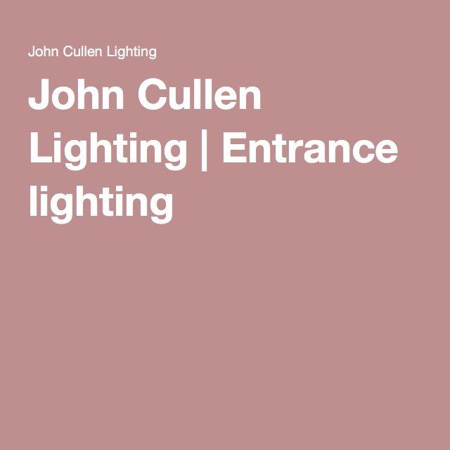 John Cullen Lighting   Entrance lighting