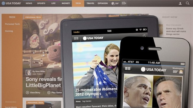 Is USA Today's redesign too little too late?