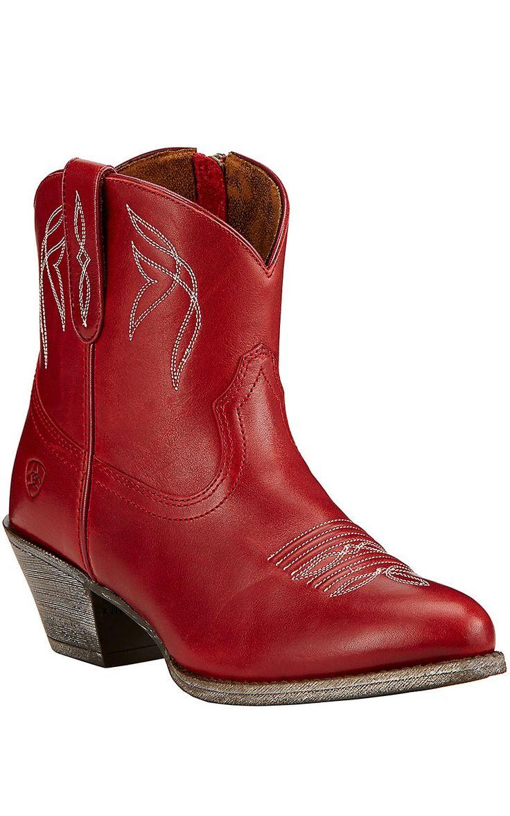 Lastest JUSTIN Black U0026 Red Cowboy Boots Womenu0026#39;s By MetropolisNYCVintage