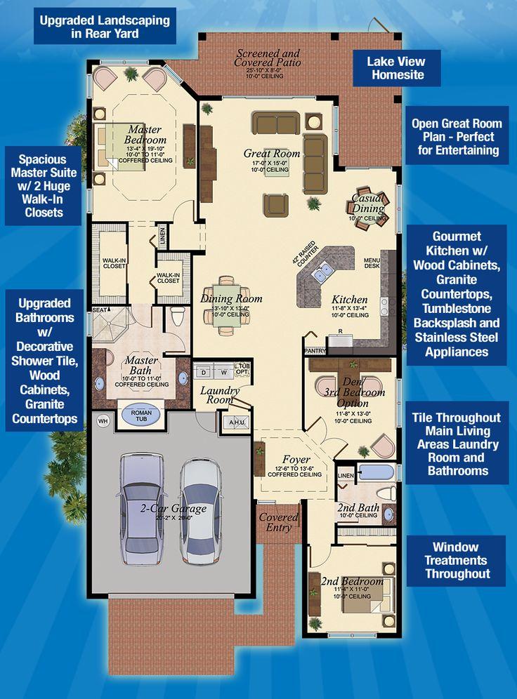 17 Best Images About Florida Homes Favorite Floorplans