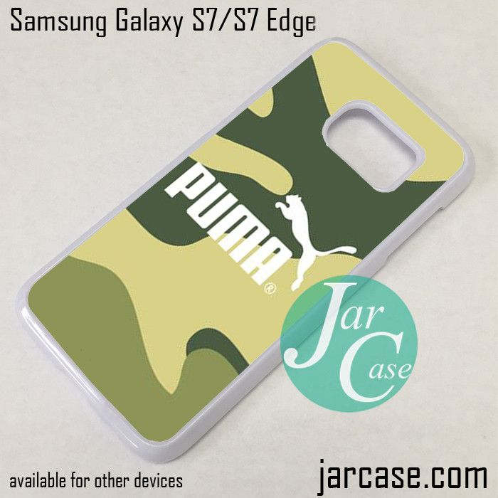 Puma Camo Phone Case for Samsung Galaxy S7 & S7 Edge
