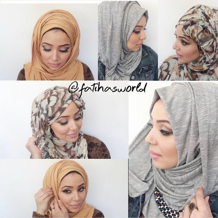 3 Hijab Styles ft. Hijabfashionshop.com |by fatihasWORLD