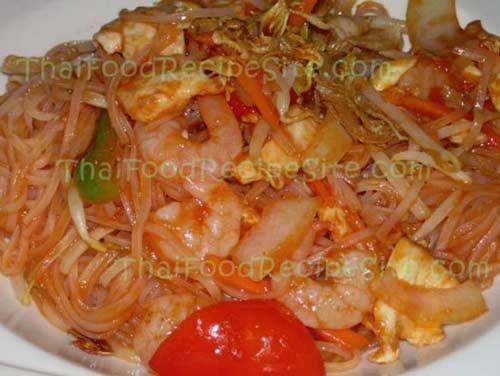 Pad Thai Recipes (Thai Noodles Recipe) | Thai Food Recipes
