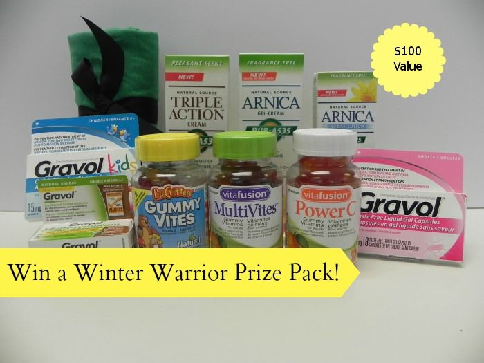 Win a Winter Warrior Prize Pack Win a Winter Warrior Prize Pack from Church&Dwight