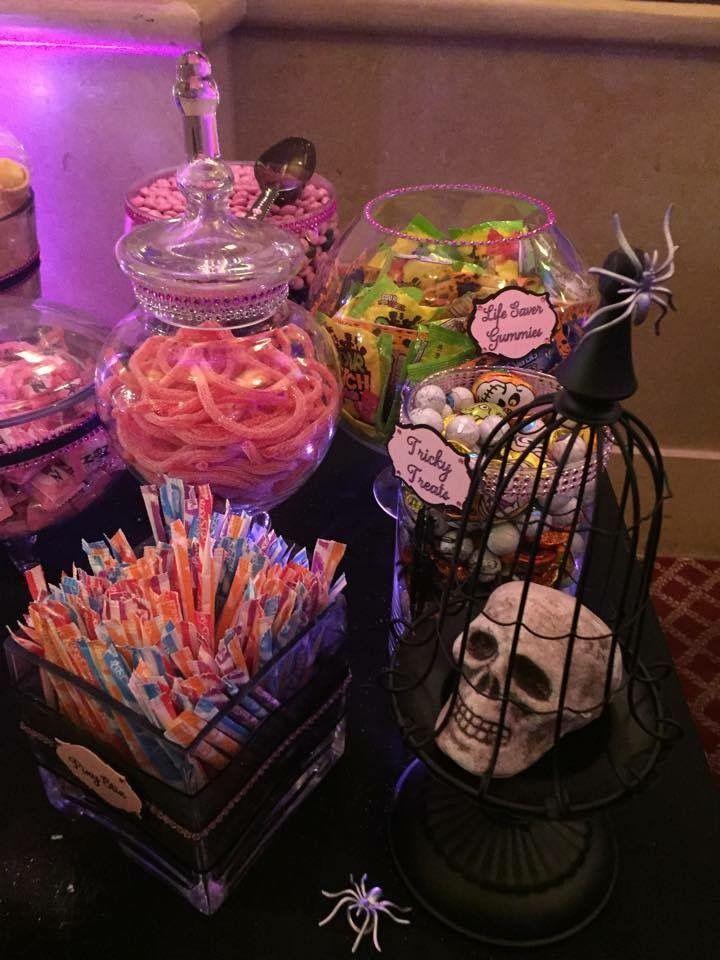 Candy Bar - Halloween Sweet 16