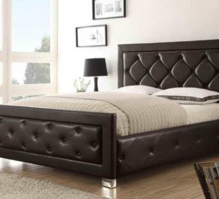 awesome black leather cheap