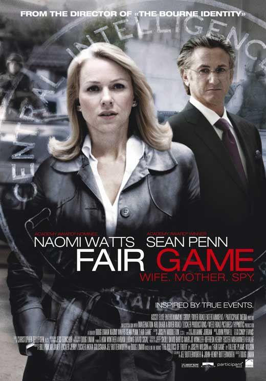 Fair Game 11x17 Movie Poster (2010)