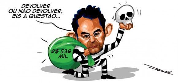 João Paulo Cunha, terá que devolver R$536 mil para sair da cadeia | Humor Político