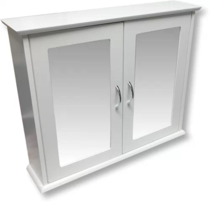 18 inch wide white bathroom wall cabinet mirror cabinets furniture