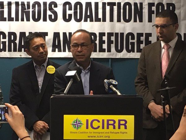 """Figures. One of the Radical Groups Organizing Against Trump in Chicago Was """"Refugee Rights"""" Group  Jim Hoft Mar 13th, 2016"""