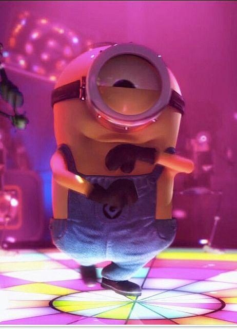 minions disco dance. See my Minion pins https://www.pinterest.com/search/my_pins/?q=minions
