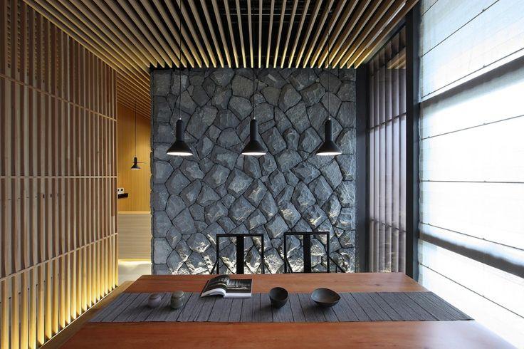 Lin Kaixin Design Co., Riverside Teahouse, Minjiang River, China, 2016