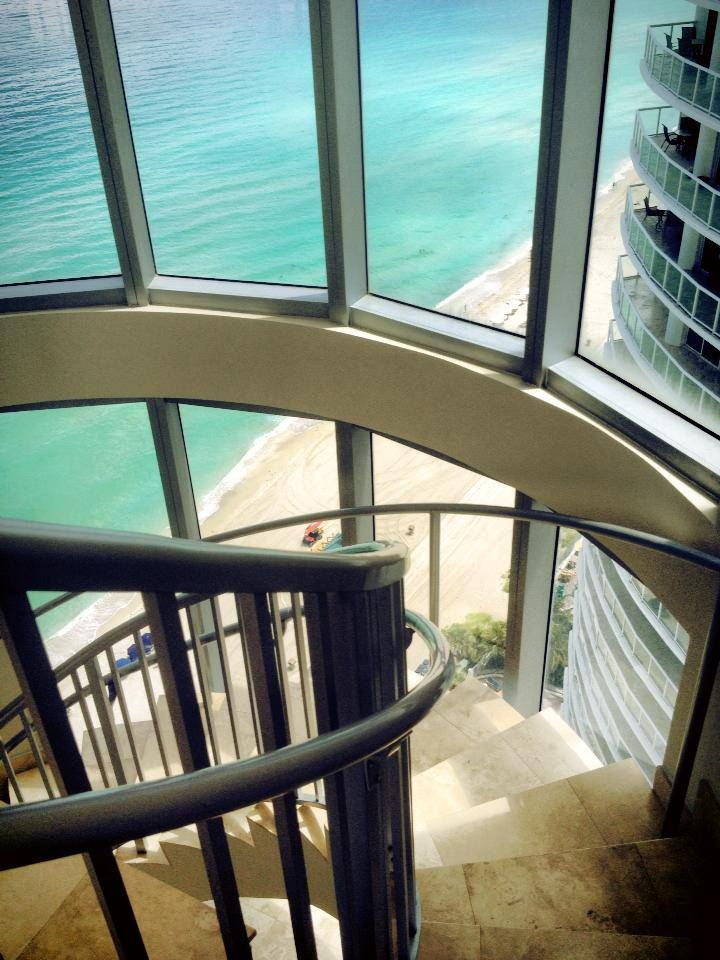 View from the penthouse - Marenas Beach Resort #Florida #vacation #penthouse